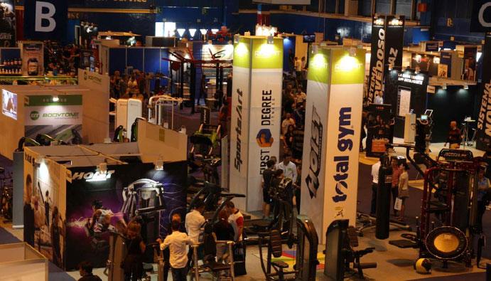 Satisfactorio debut de la feria Gym Factory