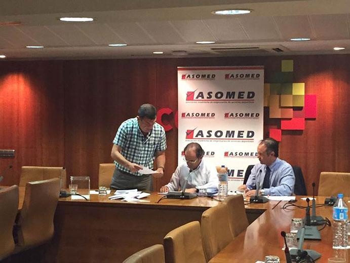 Asomed configura su nueva Junta Directiva