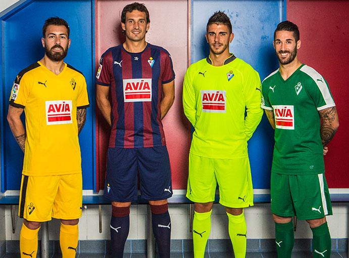 El Eibar conmemora su 75 aniversario con su nueva camiseta