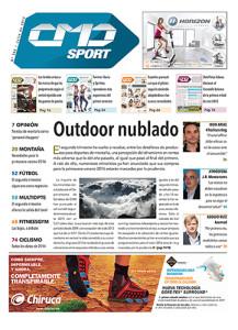 Portada de la edición número 366 de la revista CMDsport correspondiente a julio de 2015.