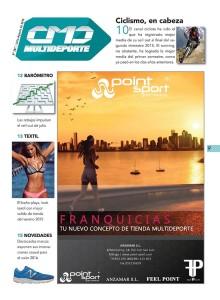 POINT SPORT es el espónsor de la sección MULTIDEPORTE del número 367 de CMDsport, correspondiente a Julio-Agosto de 2015.