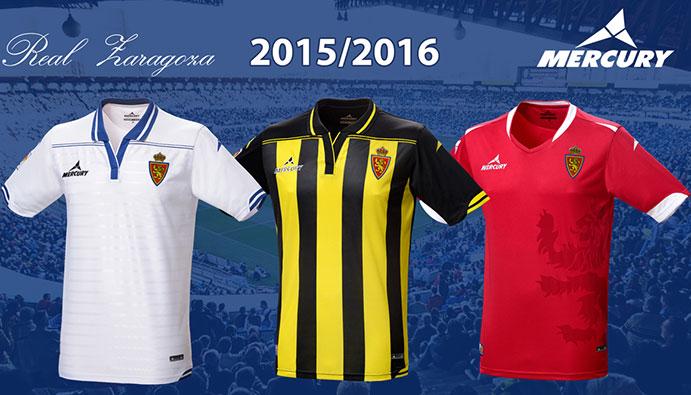 El Zaragoza presenta su nueva indumentaria