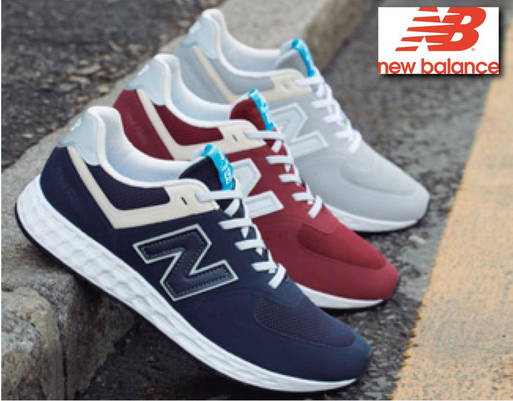 db28aed8b16 New Balance es una de las marcas que presenta sus novedades de calzado  sneaker para este otoño-invierno 2015-2016 en esta exposición.