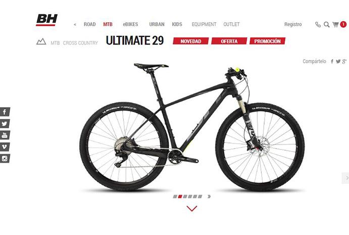 BH Bikes rediseña su página web