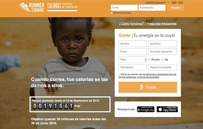 Una app convierte calorías en euros para los más desfavorecidos