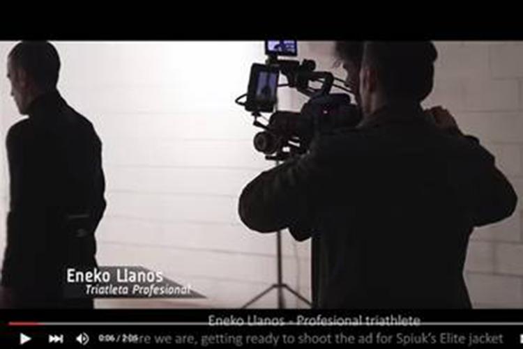 Eneko Llanos protagoniza el nuevo spot de Spiuk