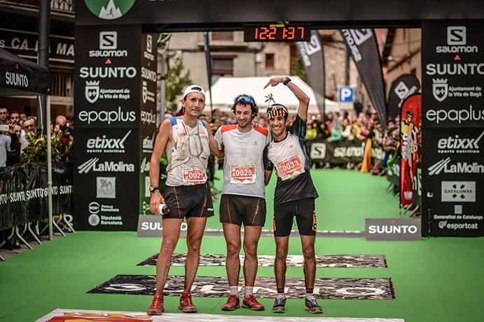 Kilian triunfa en la Ultra Pirineu tras tres años sin competir en casa