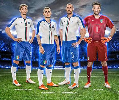 Puma presenta la segunda equipación de la Selección Italiana