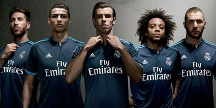 El Real Madrid estrena su tercera equipación