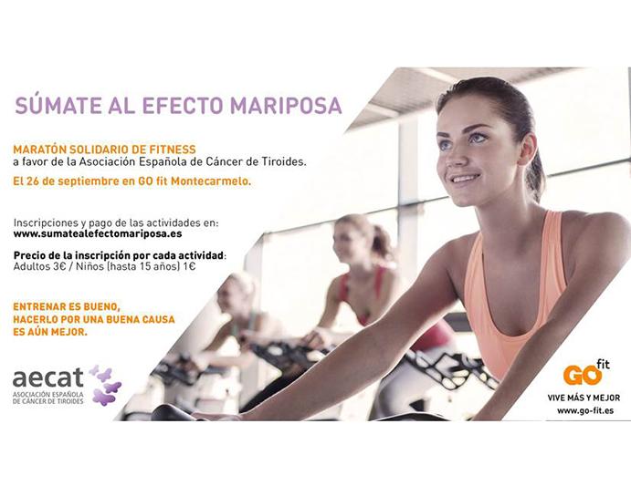 Maratón Solidario de Fitness en GO fit Montecarmelo