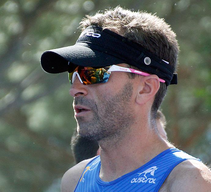 Dani Molina, nuevo campeón del mundo de acuatlón PT3