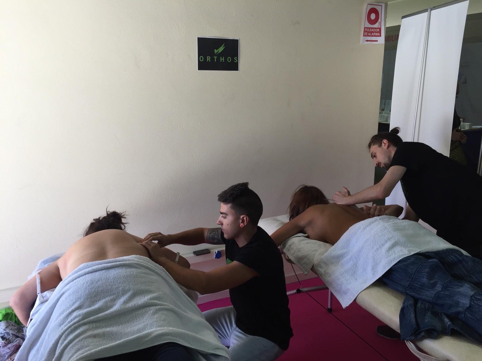 El masaje y las terapias manuales son tendencia para Orthos