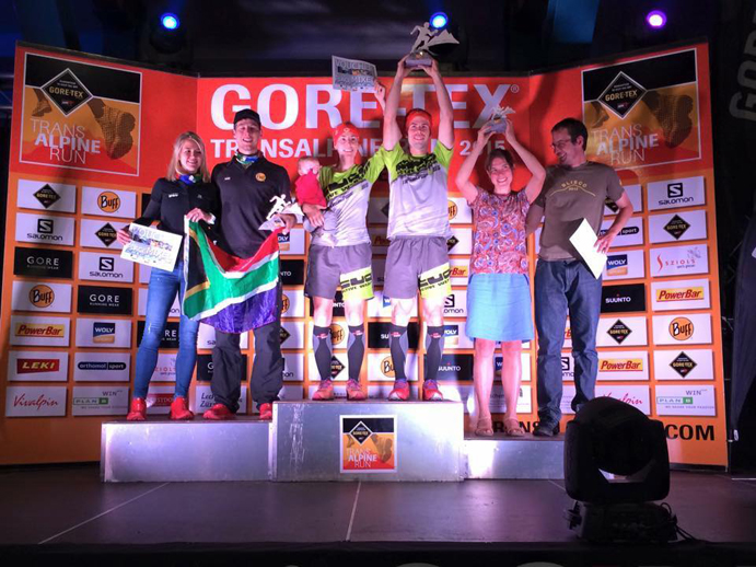 Ragna Debats y Pere Aurell se imponen en la Gore-Tex Transalpine Run