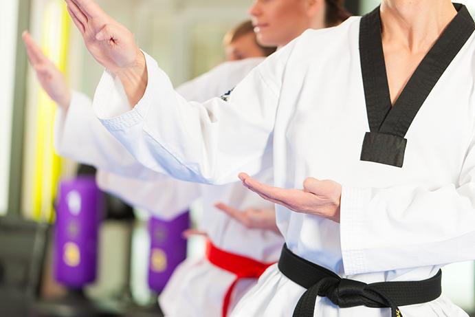 Artes marciales contra el estrés