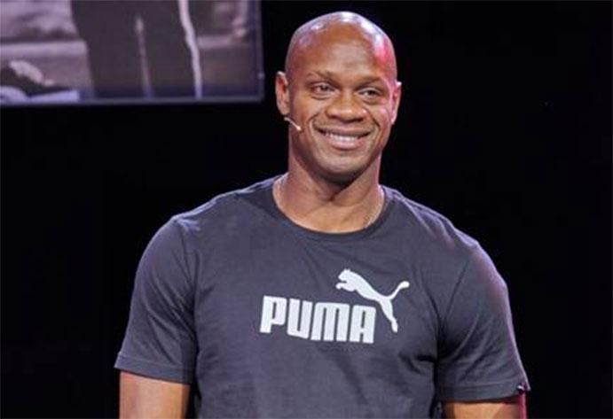 El velocista jamaicano Asafa Powell se une a la familia Puma