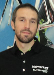 Sergi Serra, máximo responsable de Bicimarket.