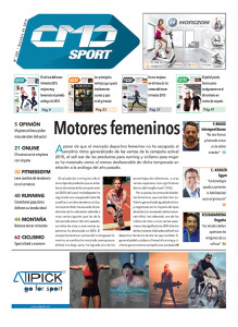 Portada de la edición número 369 de CMDsport correspondiente a octubre de 2015. Marcas anunciantes de esta portada: HORIZON y ATIPICK.