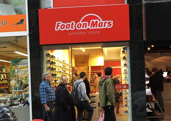 """Foot on Mars Pontevedra: """"Las marcas tienen la responsabilidad de cuidar el concepto sneaker"""""""