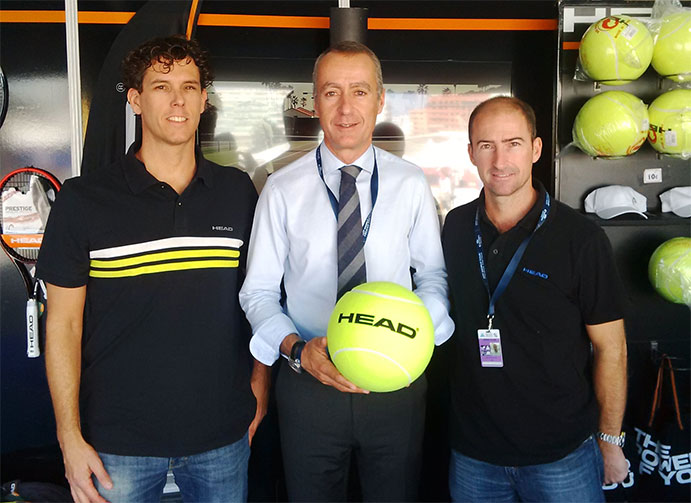 Head repite como pelota oficial del ATP Valencia Open