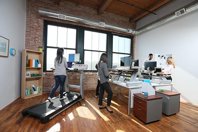 Life Fitness lanza una marca de equipamiento fitness para oficinas
