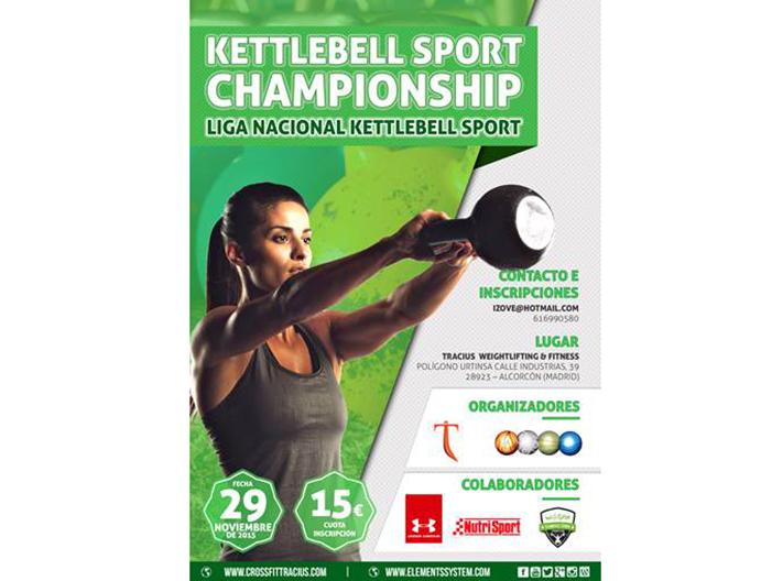 Nace la Liga Nacional Kettlebell Sport