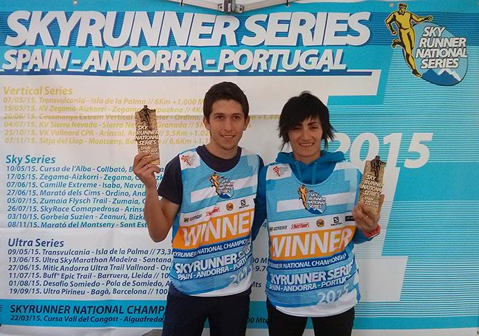 Manuel Merillas y Oihana Kortazar arrasan en las Sky Series