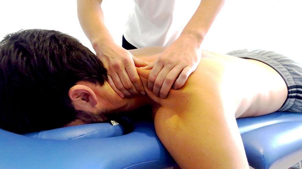 Masajes para prevenir lesiones