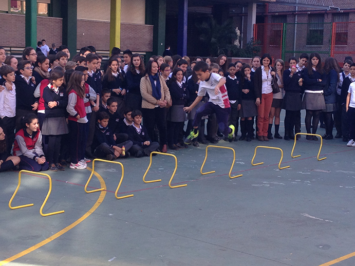 Campaña contra la obesidad infantil en colegios de Madrid