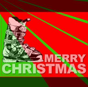 email marketing feliz navidad esquí