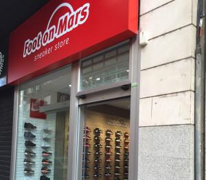 Foot on Mars abrió ocho tiendas durante 2015.