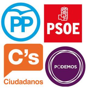 LOGOS 4 GRANDES Elecciones-20D