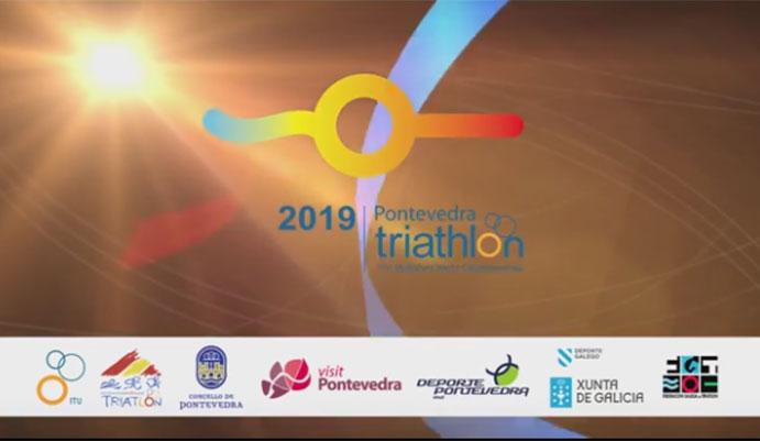 Pontevedra albergará el Mundial de triatlón y Multideporte 2019