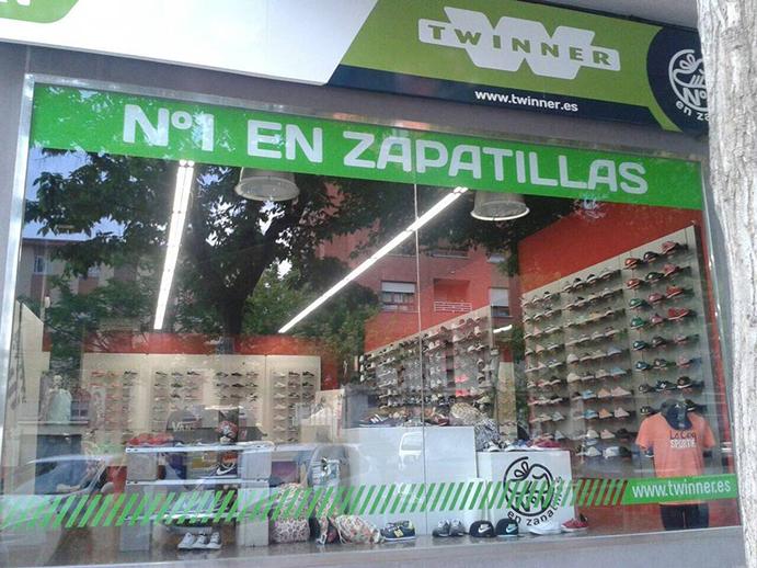 Abre la quinceava tienda de Twinner Número 1 en Zapatillas