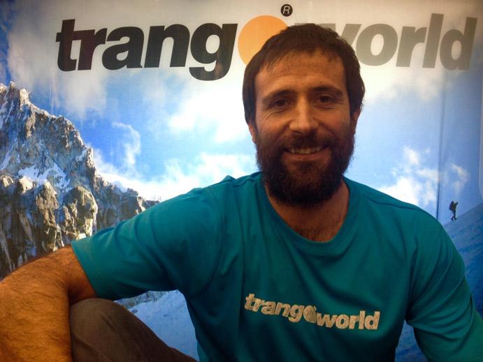 Alex Txikon se une al equipo Trangoworld