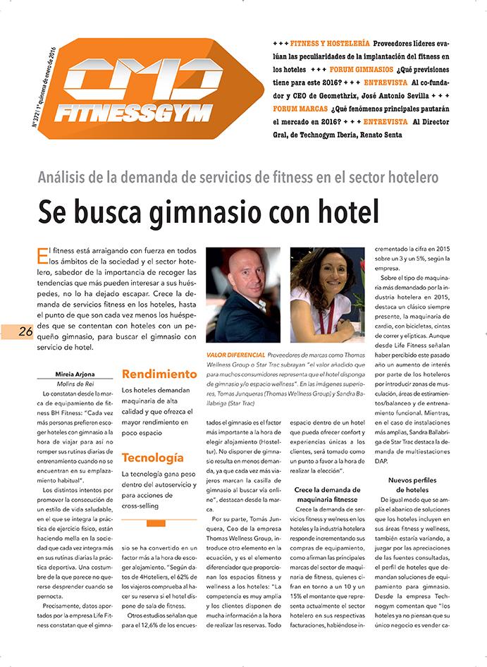 2016, ¿año de la reactivación total del sector del fitness?