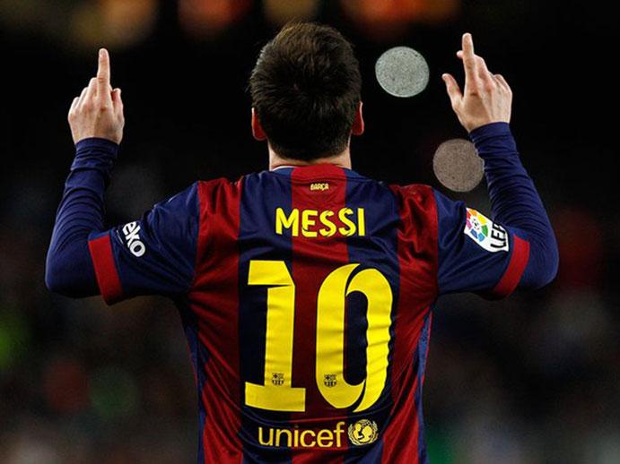 La camiseta de Messi, la más vendida del 2015