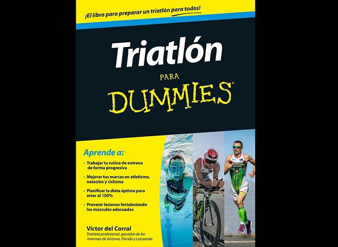 Víctor del Corral lanza el libro 'Triatlón para Dummies'