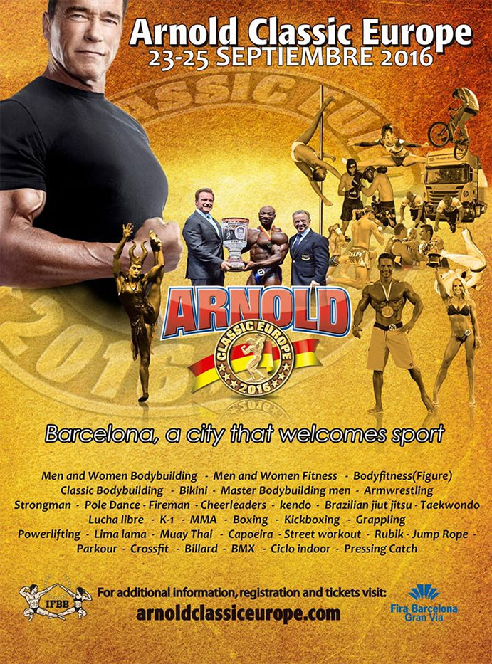 Arnold Classic Europe barcelona