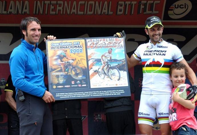 Julien Absalon y José Antonio Hermida se medirán en la CCI Biking Point de Banyoles