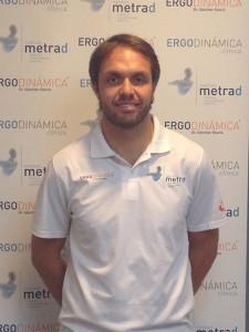 Fabrizio Gravina es responsable de readaptación y preparación física en Ergodinámica Clínica de Barcelona y gerente de Brisport Health & Performance.