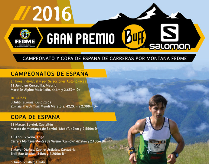 La Marató de Borriol abrirá el Gran Premio Buff-Salomon