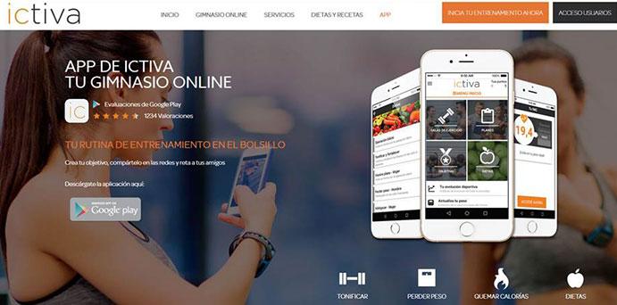 El gimnasio online Ictiva supera los 100.000 abonados