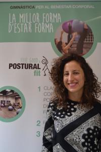 Miriam Guirao es profesora y fisioterapeuta de Postural Fit.