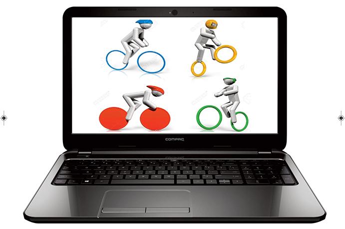 El 'chup chup' de la venta de bicicletas en internet