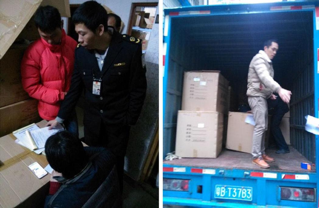 Detenido el responsable de las falsificaciones chinas de cascos Catlike