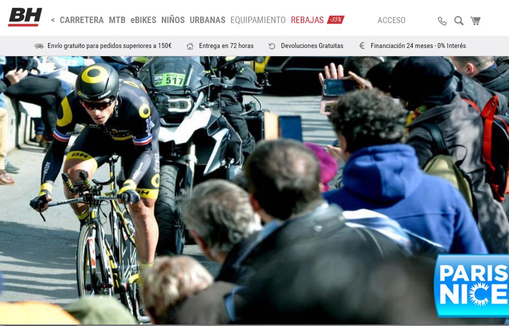 BH Bikes lidera el ranking de las marcas de ciclismo mejor posicionadas en Internet