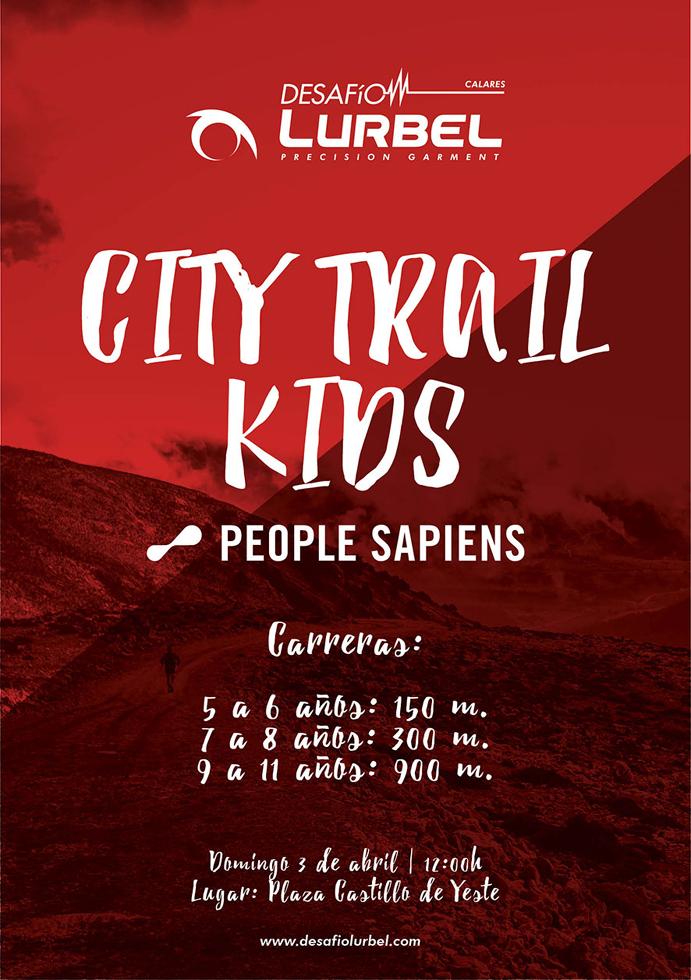 Desafío Lurbel Calares convoca un City Trail Kids para niños