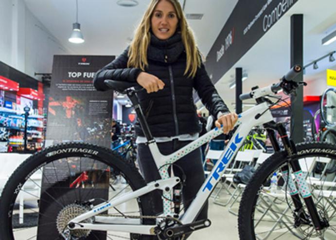 Trek presenta las nuevas bicicletas personalizadas de Claudia Galicia