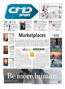 Las marcas anunciantes de la portada del número 375 de CMDsport son: HORIZON, ATIPICK y REEBOK