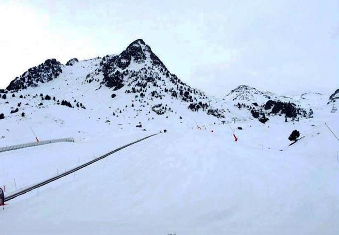 Medio millón de esquiadores acuden a las estaciones españolas en Semana Santa